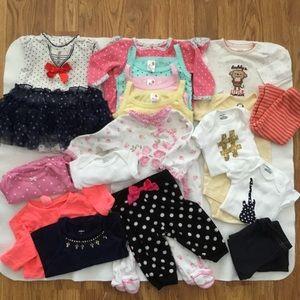 0-3 Month Baby Girls Bundle